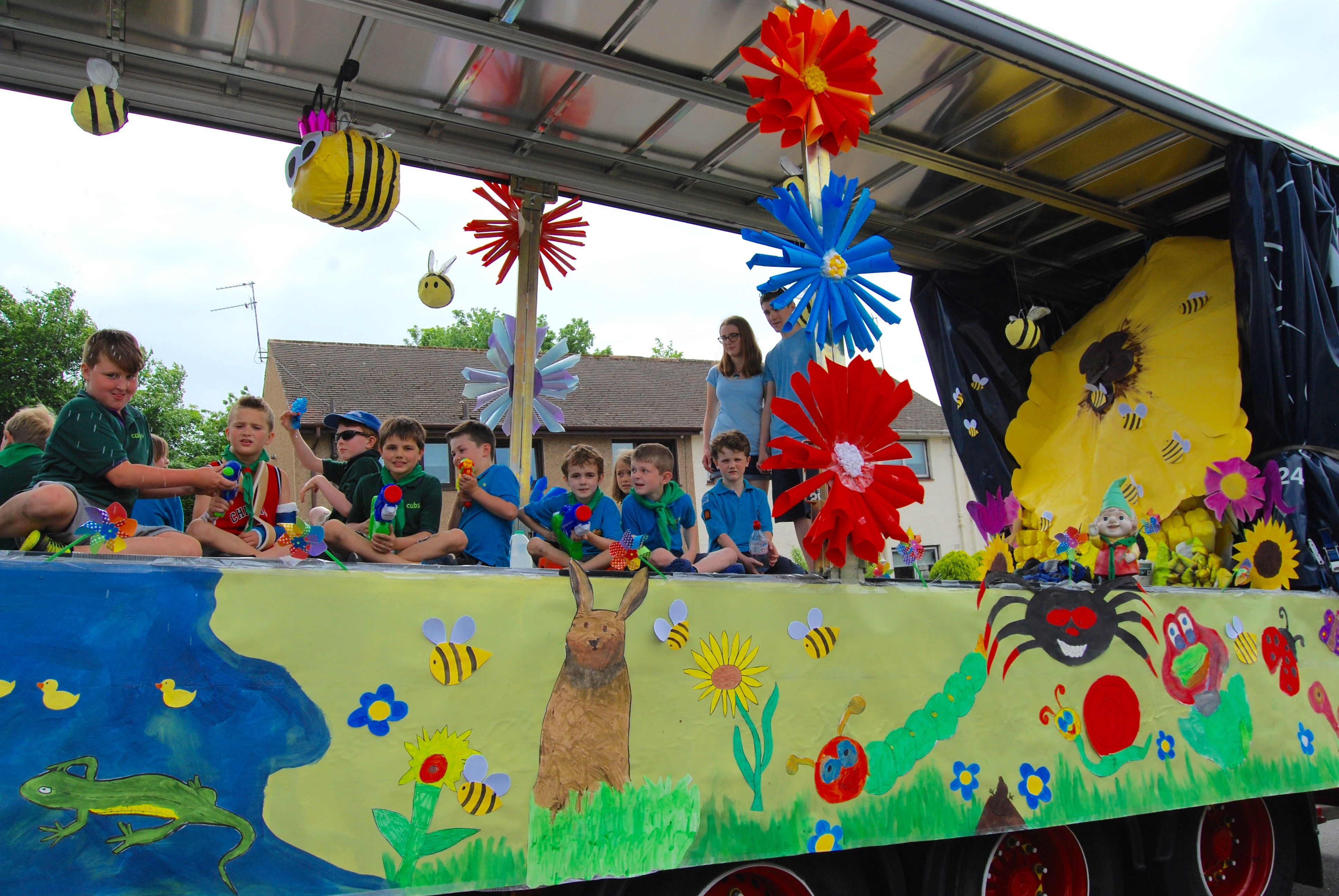 Lilias Day float